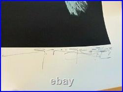 Stanley Mouse Cyclops 20 x 28 Print Blue LE/10 Vintage Grateful Dead