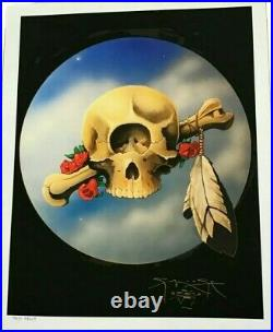 Stanley Mouse Cyclops Giclee 17 x 22 Test Print Signed Grateful Dead poster