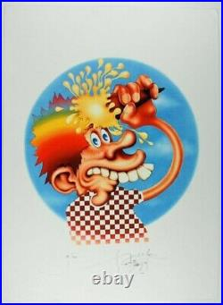 Stanley Mouse Ice Cream Kid Giclee 17x23 Signed LE/100 Grateful Dead poster