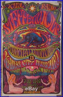 Steppenwolf Kansas City Missouri Timothy Dixon Fillmore Bg Fd Era