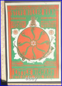 SteveMiller LittleRichard ConcertPoster StraightTheater 1967 AOR2.221 RandySalas