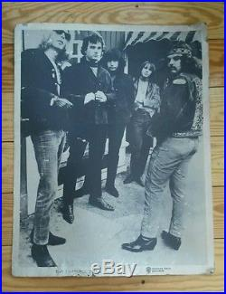 Super Rare 1967 GRATEFUL DEAD FIRST ALBUM DISPLAY SIGN. 1 of 5 known