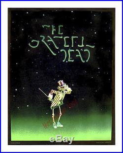 The Grateful Dead Film 1977 Rare Movie Poster Lot Jerry Garcia At His Best