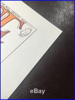 The Grateful Dead Joan Baez Quicksilver Messenger Service MIMI Handbill Poster