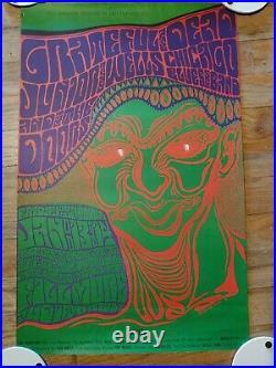 THE GRATEFUL DEAD, JUNIOR WELLS, DOORS, Wes Wilson, Original 1967 1st Printing
