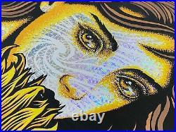 TODD SLATER GRATEFUL DEAD Kaleidoscope Foil Variant Poster Print /150 29x20