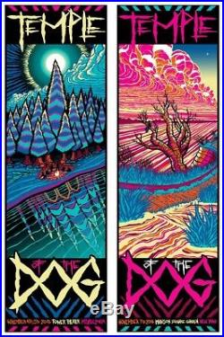 Temple of the Dog Chris Cornell Madison Square Garden Tour Poster 11/7/16 MINT