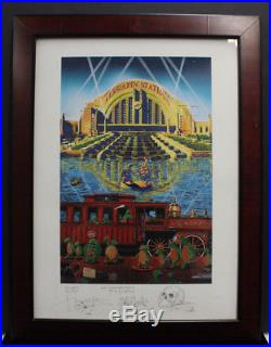 Terrapin Station Stanley Mouse Hand Signed Print 33/50 Back Together Again 2002
