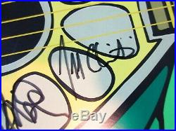 The Dead 2009 Tour Poster Grateful Bob Weir Phil Lesh Company Autograph 51/1225