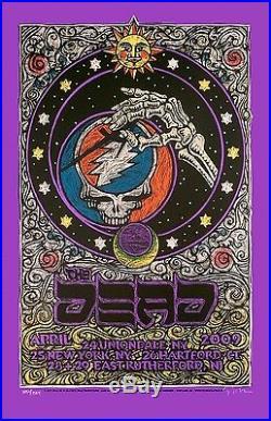 The Dead East Coast Tour Poster 2009 Original Silkscreen SN Gary Houston