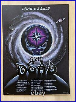 The Dead, Reunion Tour 2009 Poster, Signed And Numbered By Emek