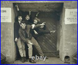 The Grateful Dead 1965 WARLOCKS Herb Greene Photograph #9 of 25 Signed 28 x 32