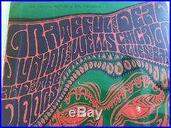 The Grateful Dead 1966 Wes Wilson original Acid Test poster