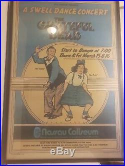 The Grateful Dead A Swell Dance Concert Poster Framed 24x36
