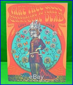 The Grateful Dead CHINA CAT Fare Thee Well CONCERT POSTER Dead And Company