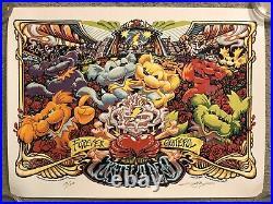 The Grateful Dead Forever Band Concert Show Mondo Poster Art Print AJ Masthay