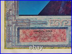 The Quintessential Grateful Dead Poster AOR 4.239 Signed