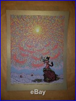 The Wolf's Symphony 2014 Marq Spusta Grateful Dead Art Print Signed #d Poster