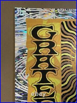 Todd Slater Grateful Dead Art Print Poster Wind Chimes Variant Foil X/150 DMB