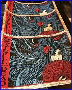 Todd Slater Grateful Dead Poster SET 3 Prints Reg / Gold / Lava Foil variants