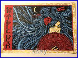 Todd Slater Grateful Dead poster Gold Variant #/150 MINT BNG Sold Out Print