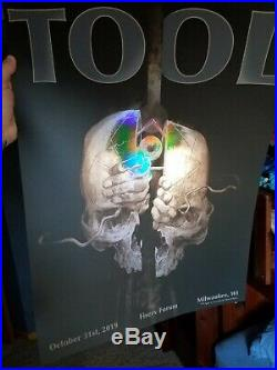 Tool band concert posters