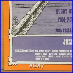 Transcontinental Pop Festival Janis Joplin Grateful Dead Fillmore Fd Era Poster