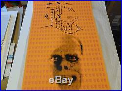 Trip or freak 1966 Grateful Dead RARE signed grateful dead mouse kelley 36x21