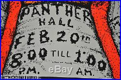 UBER RARE! 1970 Grateful Dead Panther Hall Poster EXC. Feb 20, 1970
