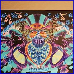 US Blues PSYCHO SAM VARIANT by AJ Masthay Limited to 250 Grateful Dead Giclee