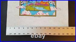 Ultra Rare GRATEFUL DEAD CONCERT T SHIRT PROOF Copywrite G. D. R. 1982 Irrobino