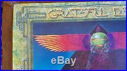 Ultra Rare GRATEFUL DEAD EUROPEAN TOUR EGYPT 1978 CONCERT POSTER by Alton Kelley