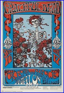 VINTAGE! Original/ Grateful Dead 1966, Poster! Avalon Ballroom
