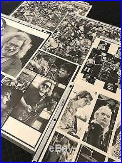 VTG Grateful Dead Jerry Garcia YEAR AT A GLANCE SETLISTS 1988-1992 PHOTOS