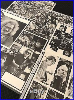 VTG Grateful Dead Jerry Garcia YEAR AT A GLANCE SETLISTS 1988-1992 PHOTOS