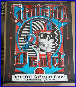 Vg+ Rick Griffen Grateful Dead Berkely Theater Fillmore Family Dog Era Poster