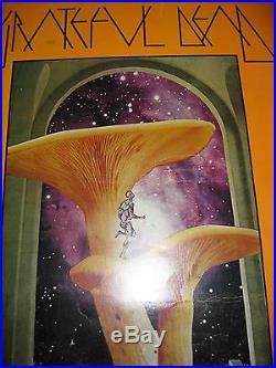 Vintage Fillmore Poster, BG-216, Grateful Dead, Taj Mahal Fillmore West Feb 1970