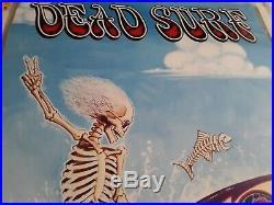 Vintage! Grateful Dead DEAD SURF Relix Poster 22 x 35