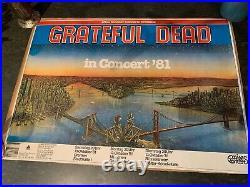 Vintage Grateful Dead Poster 1981 West Germany