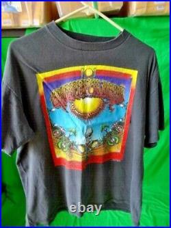 Vintage Grateful Dead T-Shirt 1990 Aoxomoxoa Rick Griffin Poster Art XL Rockum
