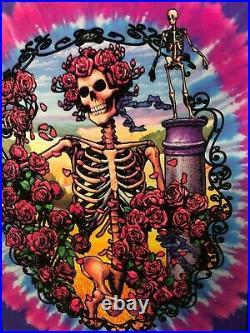Vintage NOS Blacklight Poster Grateful Dead 30th Anniversary #1919 Jerry Garcia