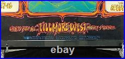 Vintage Original Fillmore West Bill Graham 133 poster, Grateful Dead, The Who