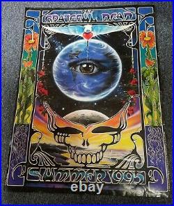 Vintage The Grateful Dead Summer 1995 Poster