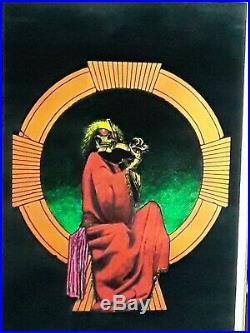 Vintage blacklight poster Gratful Dead Blues for Allah 23x35