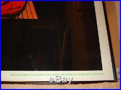 Vintage velvet GRATEFUL DEAD blacklight poster BLUES For ALLAH Philip Garris