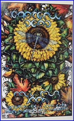 Vtg Signed 1/500 Everett Grateful Dead Fall 1995 Tour Poster Proof Boston NYC