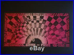 Vulcan Gas VG-13 poster BG, FD, AOR, Grateful Dead