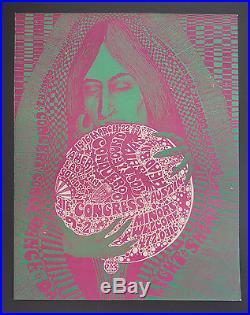 Vulcan Gas VG-17 poster BG, FD, AOR, Grateful Dead