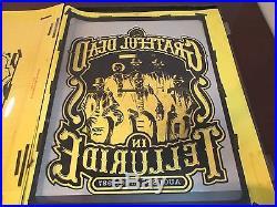 Whole Poster Lithograph Grateful Dead In Telluride Colorado
