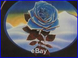 Winterland Closing-Blue Rose Poster-Grateful Dead/Blues Brothers/N. R. P. S